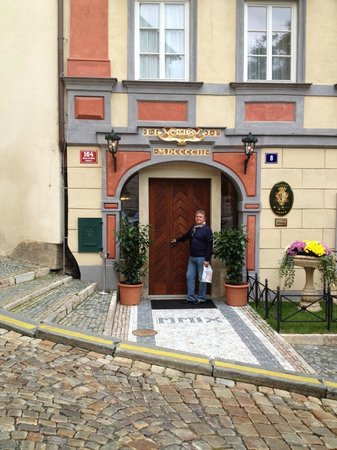 Alchymist Prague Castle Suites: Hotel Entrance