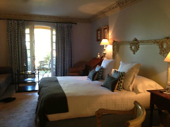 Villa Marie : Bedroom with garden view