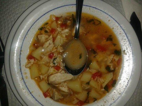 A Traineira Restaurante e Cervejaria: Fish Soup - Sopa de Peixe