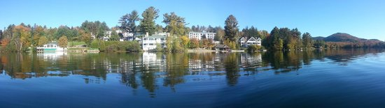 Mirror Lake Inn Resort & Spa: View from the canoe