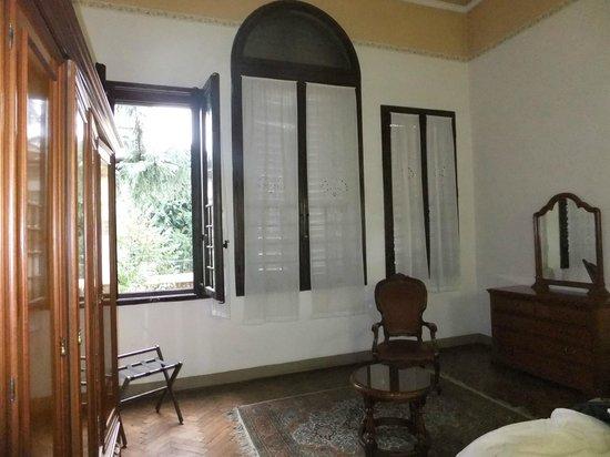 Ariele Hotel: Zimmerfenster
