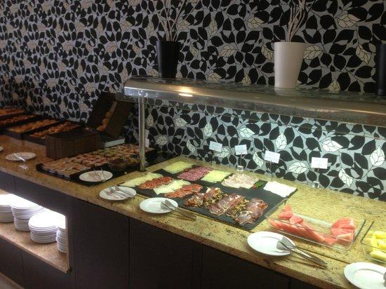 Eurostars Executive Hotel: Petit Dèjeuner a Buffet.
