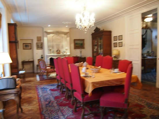 Hotel Tardif Noble Guesthouse: The breakfast room