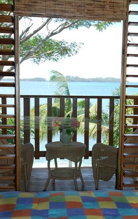 Hanover Parish, Jamaica: View from Ocean Room Sunshine Bldg. 2nd floor DE2