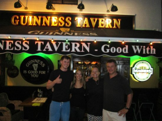 The Guinness Tavern: the team