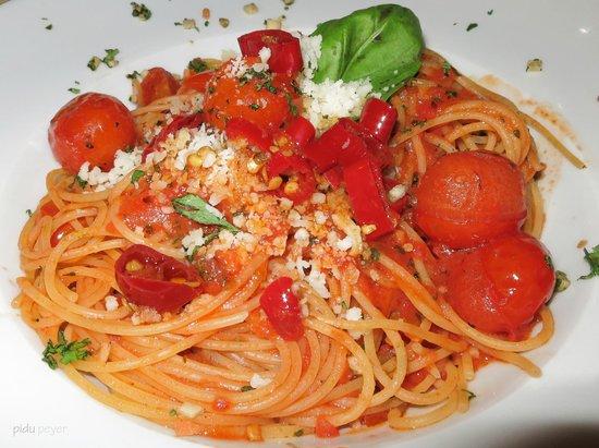 Hotel Restaurant Derby: Ein herrliches Pasta Menü