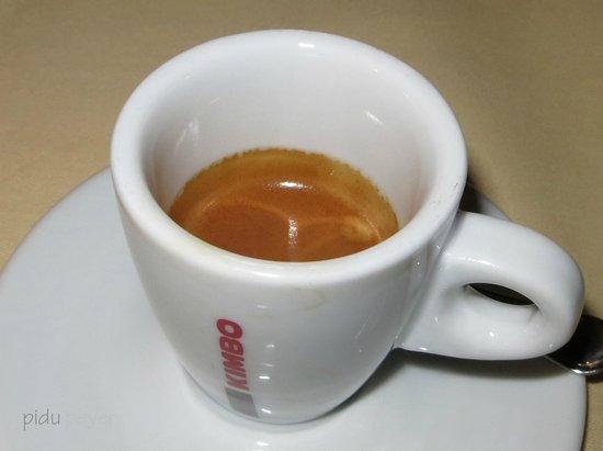 Hotel Restaurant Derby: Die Kaffees sind Spitze - wir bevorzugen den Ristretto