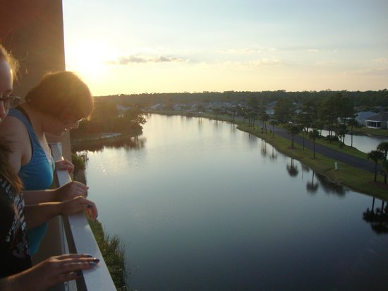 Fairfield Inn & Suites Orange Beach: View from our 5th floor balcony.