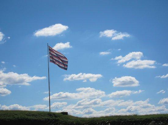 Fort Mifflin: Famous flag