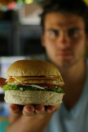 Handsome Sandwiches: The handsome chicken burger
