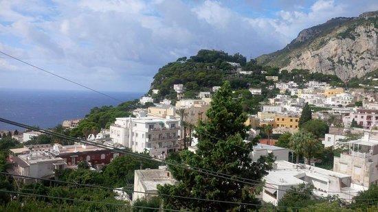 Capri Tiberio Palace : view from room 220