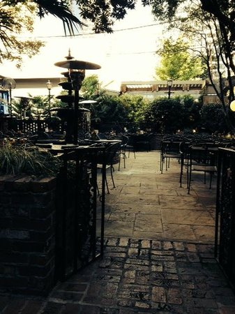 Front Page News: Beautiful Outdoor Patio Area