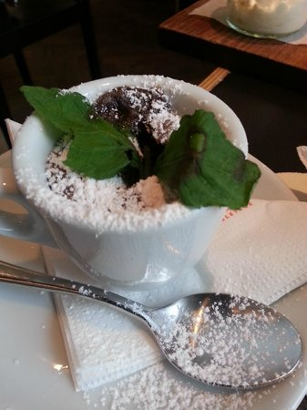 Hotel Hollmann-Beletage: Amazing chocolate melt: breakfast