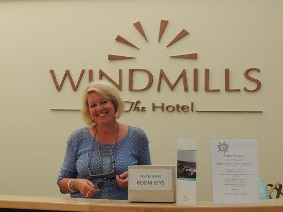 Windmills Hotel: Hotel Reception