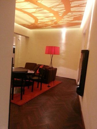 Hotel Hollmann-Beletage: Sitting room(s)