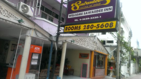 Welcome Sawasdee Inn: External front