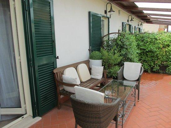 """Althea Inn : """"Our"""" terrace"""