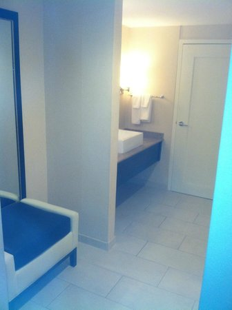 Hyatt Regency St. Louis at The Arch: outer vanity area