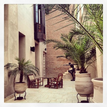 Villa Makassar : terrasse petit déjeuner