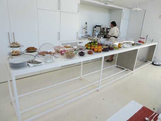 La Moresca Maison de Charme: Wonderful breakfast buffet