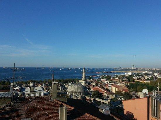 Ferman Sultan Hotel : Beautiful view of the Bospherous