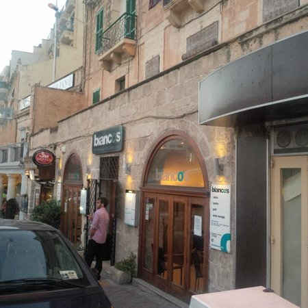 Bianco's: View from outside