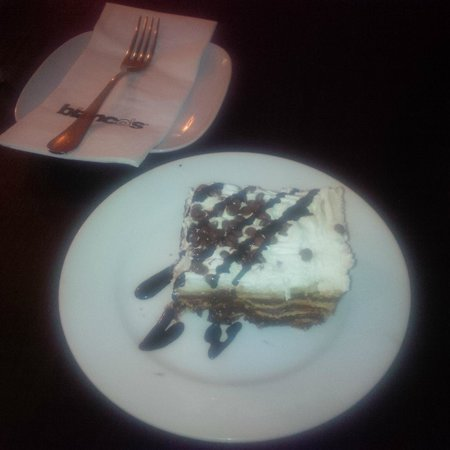 Bianco's: Gorgeous nutella desert