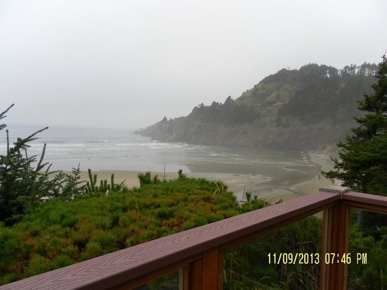 Ocean House Bed and Breakfast: View from our room
