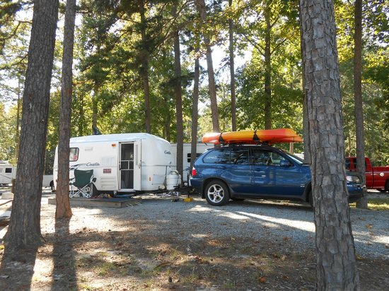 Pine Ridge Campground: Photo of site 13