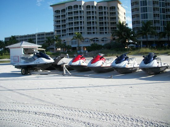 Holiday Water Sports: Wave Runners! Ours was blue.