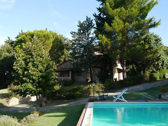 Agriturismo San Michele: House from the pool