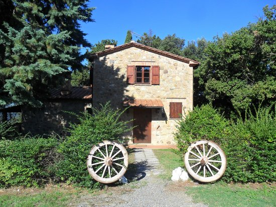 Agriturismo San Michele : Front of Apartment 1