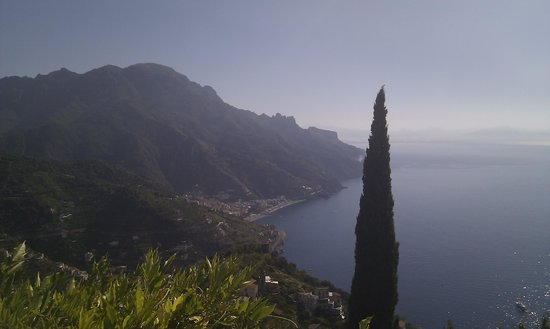 Graal Hotel Ravello: view from our room - 148.