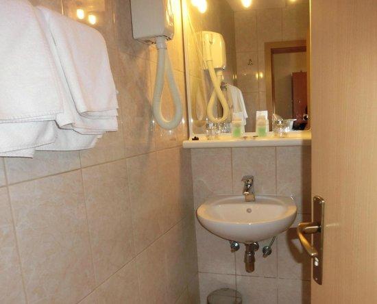 Hotel Petka: bathroom