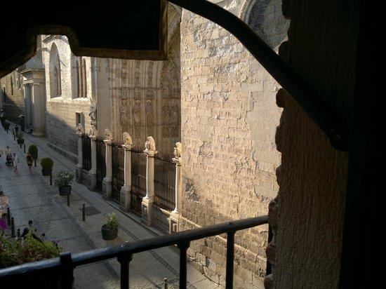 Hostal Casa de Cisneros: View from our room was great