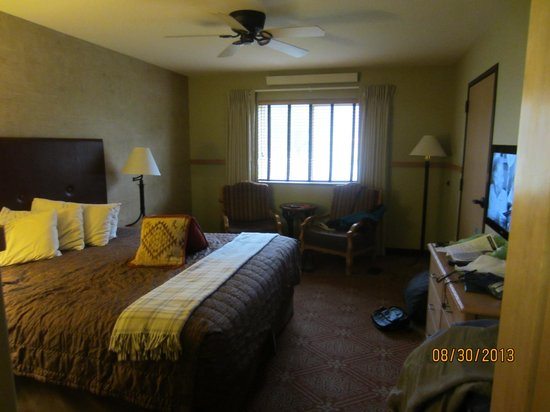 McKinley Chalet Resort: our room