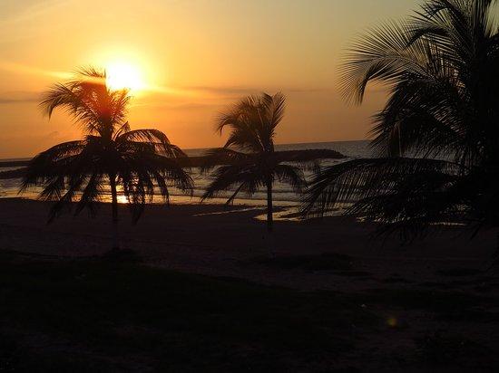 Hotel Castillo del Mar : Atardecer en Riohacha