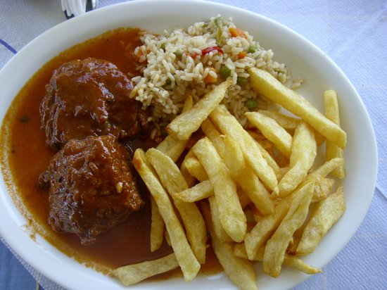 Atlantis Taverna: piatto di carne greca