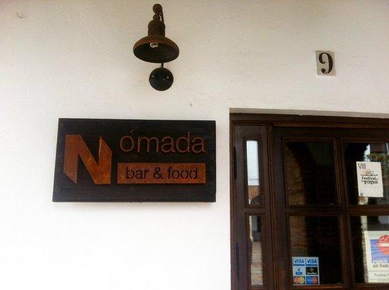 Nomada Bar&Food: Nomada - entrance