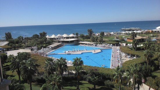 Hotel Riu Kaya Belek: view from room 4085