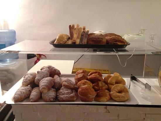 Sweet Otël Valencia: choix petit déjeuner