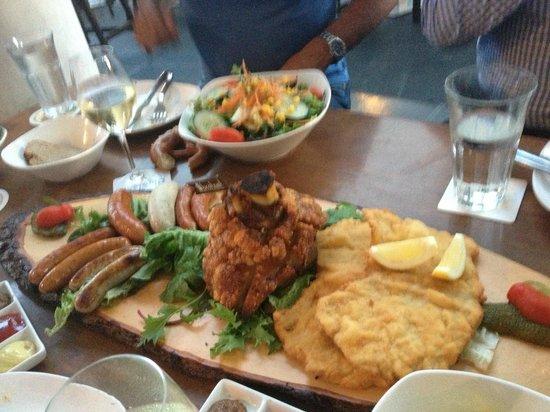 Brotzeit German Bier Bar & Restaurant : Brotzeit Platter