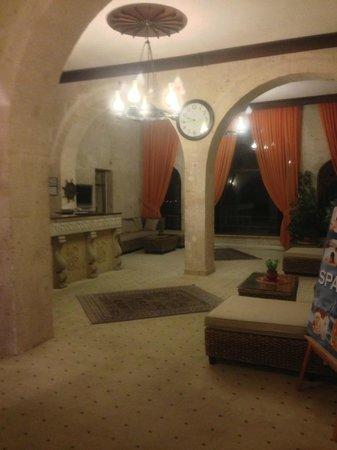 Uchisar Kaya Hotel: Recepção