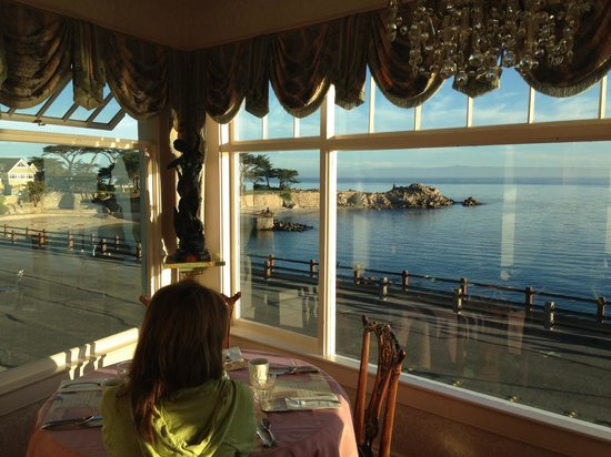 Seven Gables Inn: View from breakast area.