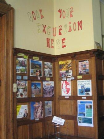 Hostel Square Independencia: En la recepción