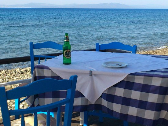 Irene Apartments: lunch time in psalidi