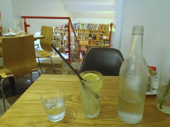 Number Four: Home-made lemonade, and chilled water