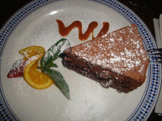 moyo Melrose Arch: Dessert - Chocolate cake