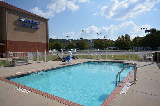Comfort Inn & Suites : Outdoor Seasonal Pool