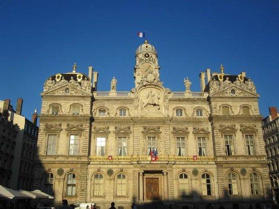 Hôtel de Ville a Lione.